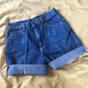 Vintage Lee Riders Mom Shorts